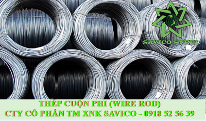 Thép cuộn (wire rod) SWRM12 or CT13